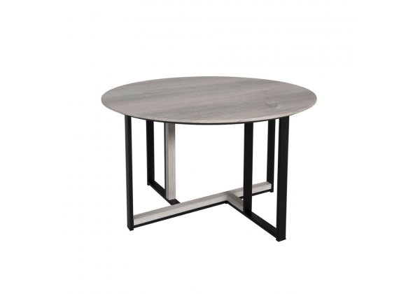 COMBO COFFEE TABLE SONOMA DECAPE ΜΑΥΡΟ D60xH40cm